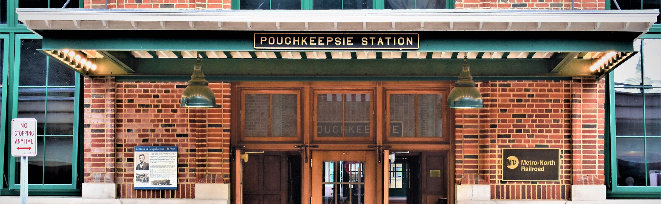 Photograph of Poughkeepsie Station