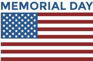2019 Memorial Day Flag
